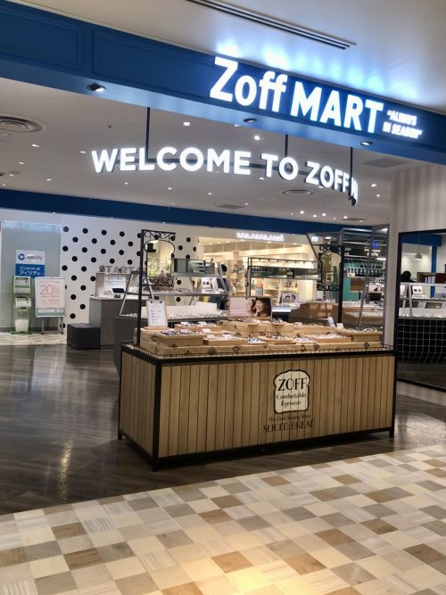 """Zoff MART """"ALWAYS IN SEASON"""" ルミネ有楽町店"""